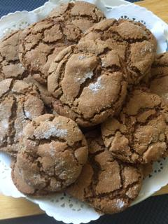 Guest blogger- When the Fall colors come out, so do the Ginger Cookies