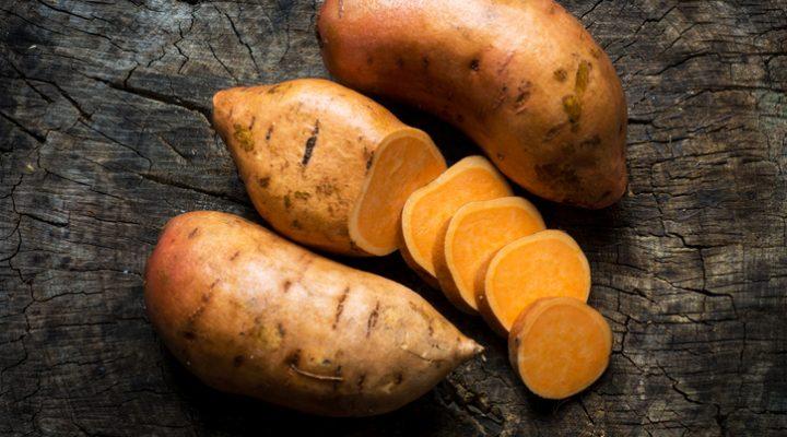 """Sweet Potato """"Nachos"""""""
