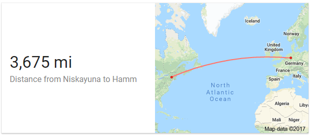 3,675 Miles