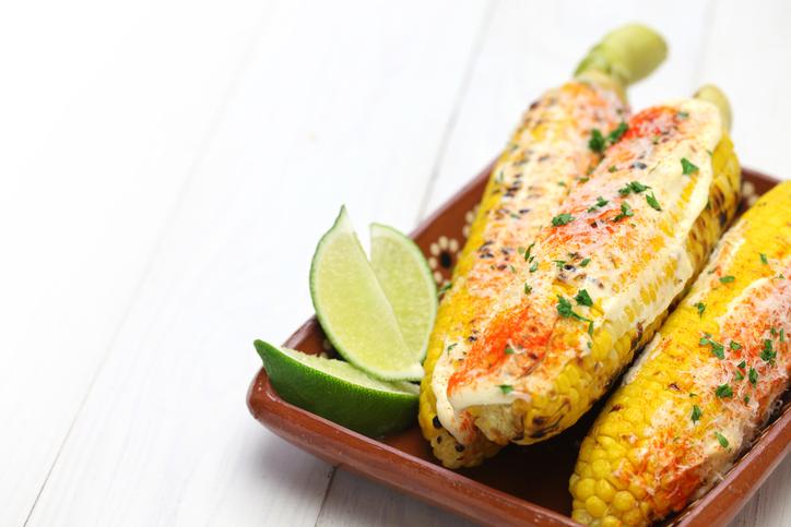 It's Corn Season:  Corn Salsa And Mexican Street Corn