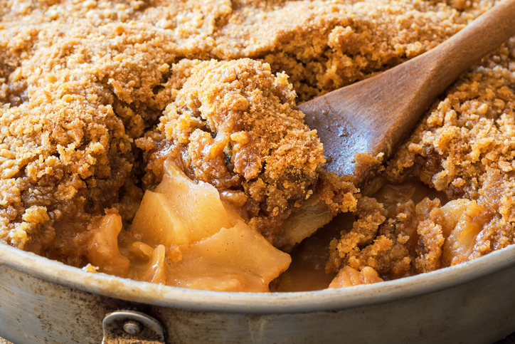 If You Are Going To Make An Apple Crisp…